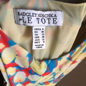 Badgley Mischka Dresses - Badgley Mischka Le Tote Maxi Dress Tulip Floral